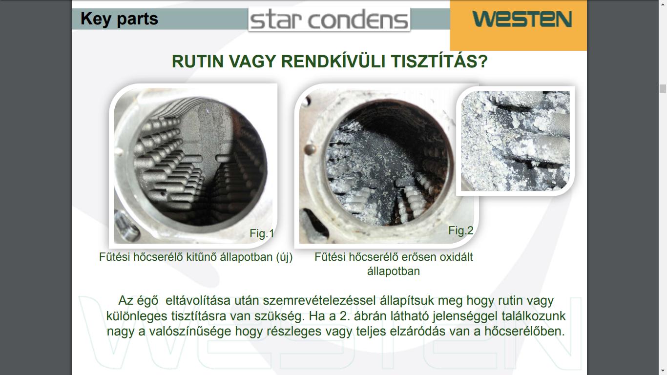 Westen Star dugulás - oxidációs jelenség