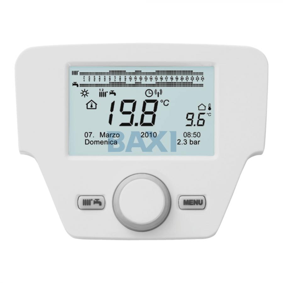 Baxi Platinum+ / Duo-Tec MP+ / Power HT+ vezeték nélküli távvezérlő